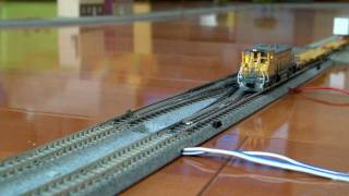 Nscale  ATLAS MP15 DCC UP#1331 &BLMA Spine Cars