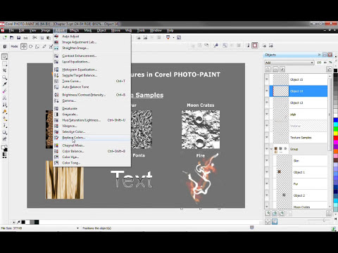 Creating Textures in Corel® PHOTO-PAINT™