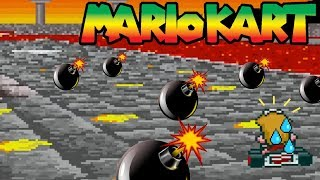 Can You Beat Super Mario Kart Without Touching Coins Or Using Items? (Part 1)