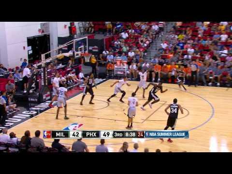 Summer League: Milwaukee Bucks vs Phoenix Suns