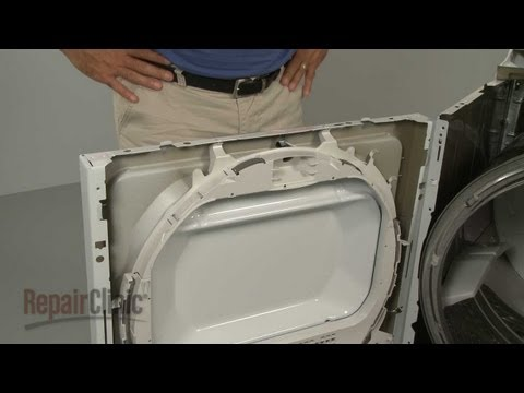 Dryer Support Drum Bearing Replacement – GE Dryer Repair (part #WE3M26)