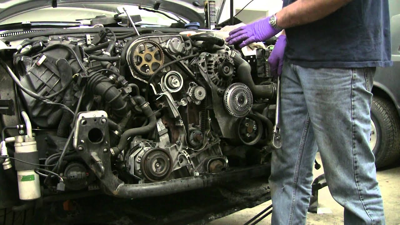 Fkautoworks Vw Passat B5 1 8t Awm Timing Belt Dvd Youtube