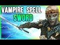 Skyrim Best Weapon Location   For VAMPIRE Build (Harkon's Sword)