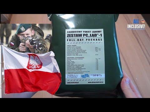 Сухпай Польша ZESTAW PC LAD - 1 Сухой паёк армии Польши. ИРП MRE