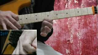 Michael Jackson  Beat It Guitar solo tutorial licks lesson