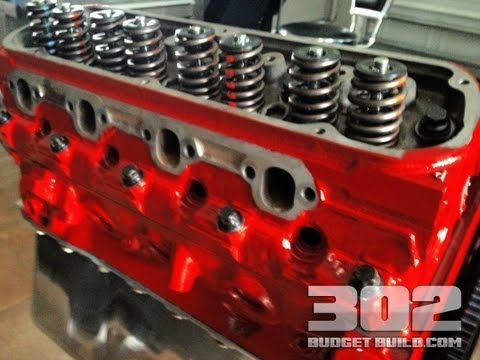 How To Install Cylinder Heads on a Small Block Ford 302 | GT40 GT40P Heads ARP B
