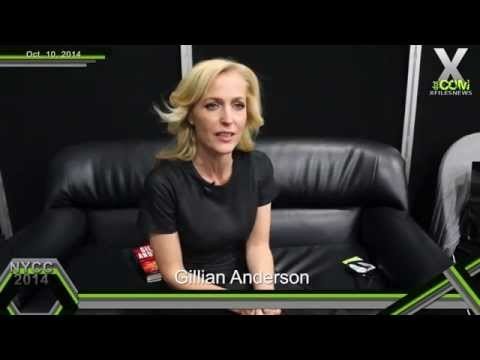 XFN Exclusive: Gillian Anderson at NYCC '14