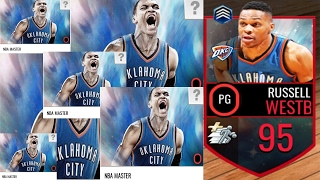 95 OVR WESTBROOK   NBA Live Mobile