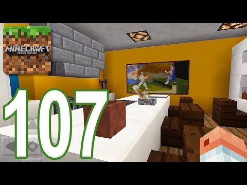 Minecraft: PE - Gameplay Walkthrough Part 107 - Find The Button: Rooms Edition (iOS, Android)