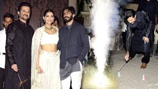 Anil Kapoor's Diwali Party 2016 Full Video HD - Sonam & Harshvardhan Kapoor