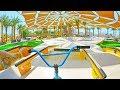 DUBAI'S2,000,000$SKATEPARK BMX RIDE!