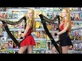 BIG BANG THEORY Theme (Harp Twins) Camille and Kennerly