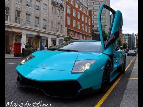 Turquoise Lamborghini Murcielago Lp670 4 Sv Youtube