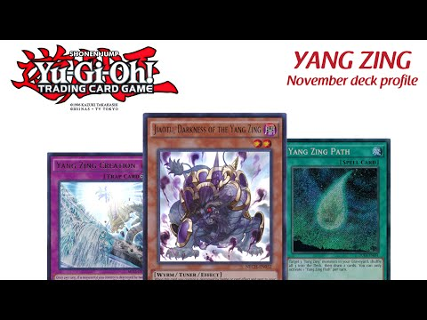 Yang Zing Deck Profile  | YuGioh - November 2015