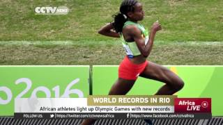 African athletes light up Olympics with records