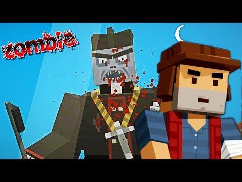 Нападение Зомби как в Майнкрафт. Симулятор выживания. Зомби апокалипсис в мульт игре от fgtv