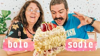 BOLO GELADO DE LEITE NINHO DA SODIÊ | GOSTO SE DISCUTE