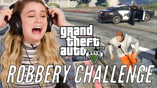 We Try To Rob Every Store In Grand Theft Auto 5
