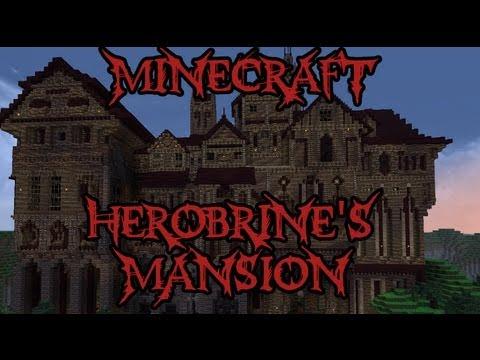 Herobrine's Mansion Part 1 - The Quest Begins - Minecraft Adventure Map