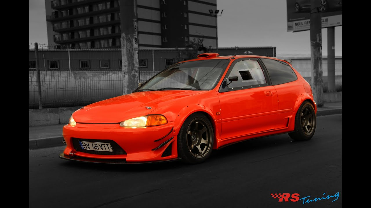 Rs Tuning Honda Civic Project Youtube