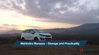 2018 Mahindra Marazzo | Storage & Practicality | CarWale