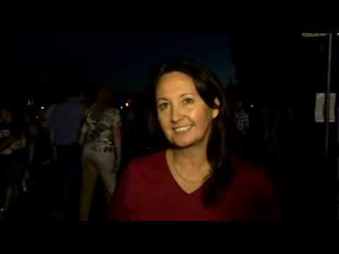 Interview with Dr. Yvonne Pendleton at NASA Ames Science Night featuring LADEE launch