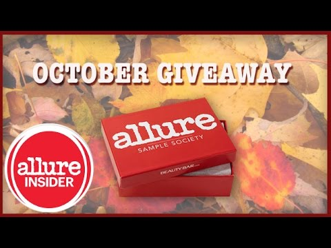 October Sample Society Giveaway! video