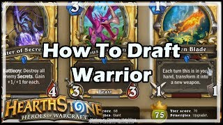 [Hearthstone] How To Draft Warrior
