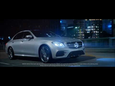 Mercedes-Benz 2017 E-Class commercials The Future And The Journey