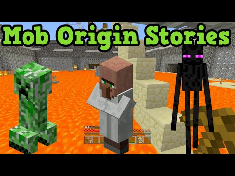 Minecraft -  Mob Origin Stories
