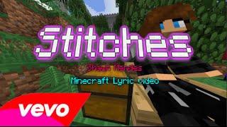 Stitches - Shawn Mendes - Minecraft Lyric Video