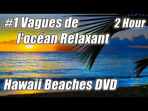 2 Ore piu Rilassante e Bellissima Oceano Onde DVD HAWAII HD Spiagge Rilassanti Suoni Della Natura