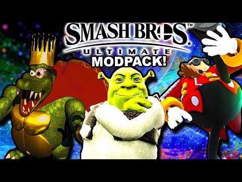 THICC BOIS ONLY || Smash Bros 4 Ultimate Modpack