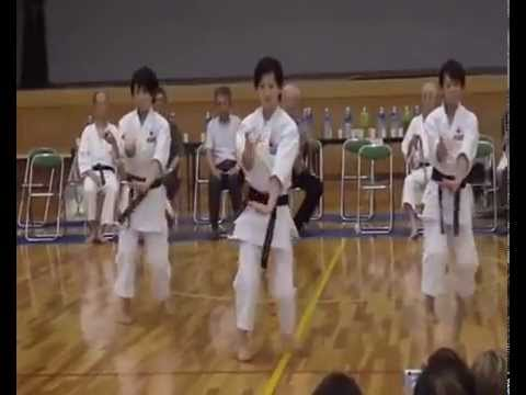 Kata Kururunfa Version Goju Ryu video