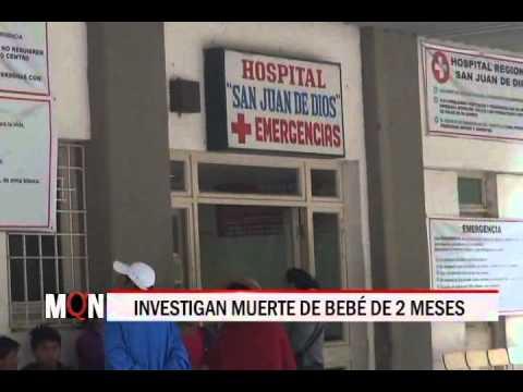 23/04/15 14:29 INVESTIGAN MUERTE DE BEBÉ DE 2 MESES