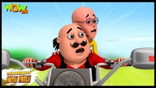 Mobike Ride - Motu Patlu in Hindi - 3D Animation Cartoon for Kids -As seen on Nickelodeon