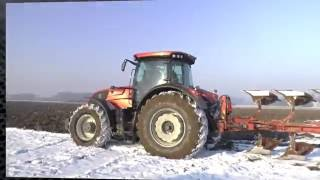 VALTRA S353 KING of ICE + PUDILUK vs Zamarznięta łąka