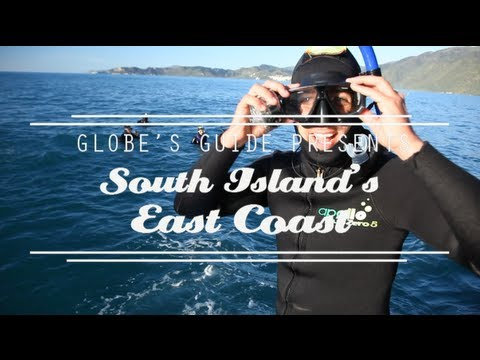 GLOBE'S GUIDE - South Island's East Coast - The ultimate video travel guide to New Zealand