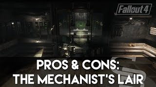 Fallout 4 - Pros & Cons: The Mechanist's Lair! (Fallout 4 Settlement Review)