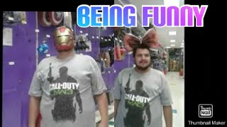 Pictures Of Me At Party City (Being Funny)