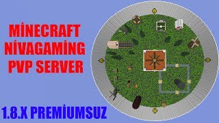 MİNECRAFT NİVAGAMİNG PVP SERVER TANITIMI - [PREMİUMSUZ][1.8.X]