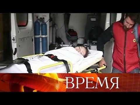 Дарью Старикову изгорода Апатиты, после прямой линии срочно увезли в больницу.