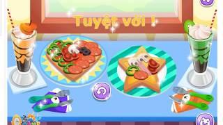 Game Cho Bé   Làm Bánh Pizza Trái Tim   How to cook Pizza   Game For Kids