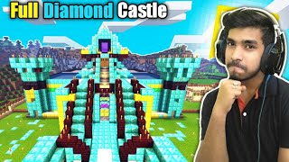 Full Diamond Castle Techno Gamerz Minecraft | @Techno Gamerz, @Mythpat | Minecraft