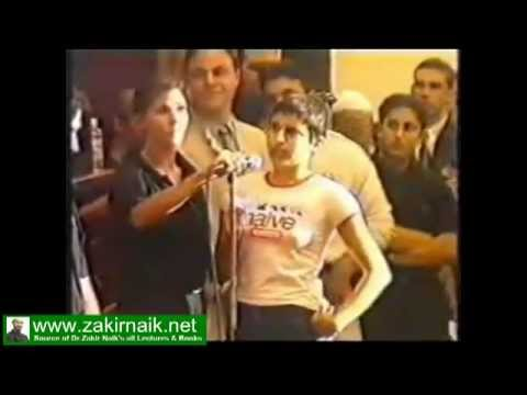 Ahmad Deedat Answer Shocked A Girl - Www.zakirnaik.net video