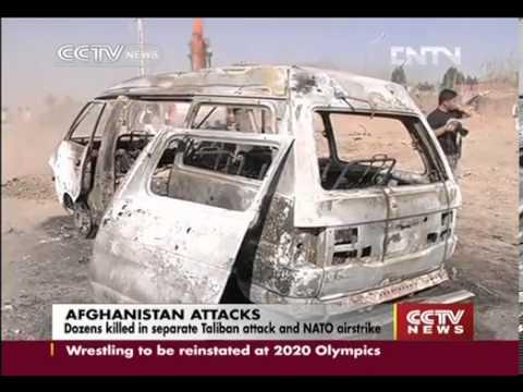 Dozens Pashtuns Killed in Separate NATO Airstrike in Kunar, Paki-Punjabi ISI Attack in Wardak