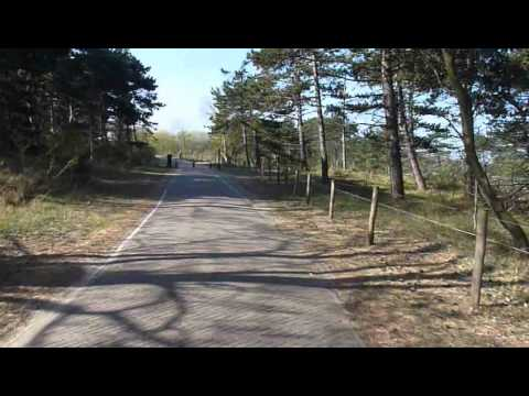 32 minutes  bicycle trip - coastal dunes Netherlands