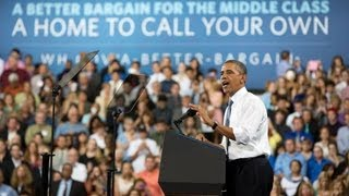 President Obama Speaks on Restoring Security to Homeownership 8/713