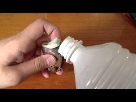 Recharger son zippo avec de l 39 essence f faire durer son briquet how to save money and do it - Comment recharger un briquet ...