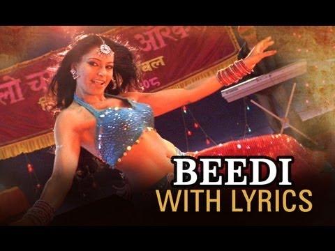 Beedi Song With Lyrics - Omkara video